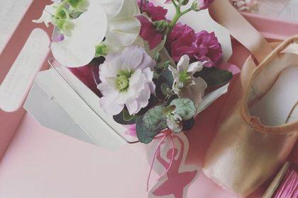 バレリーナ ミニフラワー アレンジメント バレエ 花