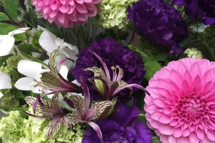 バレエ教室 先生 発表会 お祝い フラワーアレンジメント 花
