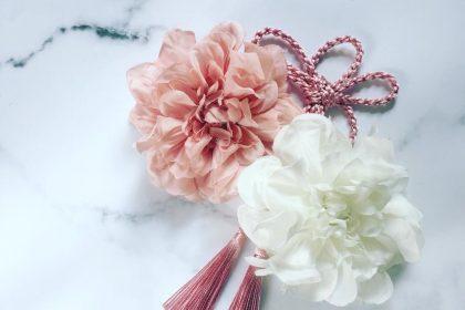 アーティフィシャルフラワー 鹿児島 七草祝い 髪飾り 和装