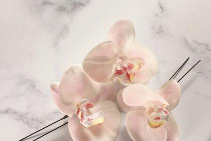 胡蝶蘭 ヘアピン 成人式 卒業式 振袖 七五三 ヘアスタイル 花 アーティフィシャルフラワー