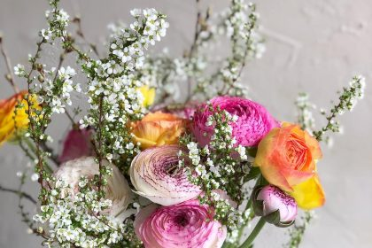 送別 花束 贈る オーダー