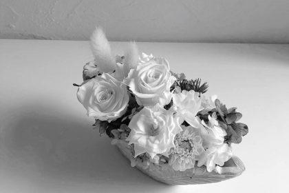 生花 お供え プリザーブドフラワー オンラインストア STORES 夏 和装髪飾 リース