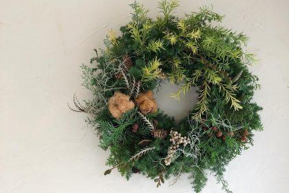 美容院 開店 お祝い 贈る オーダー クリスマス リース