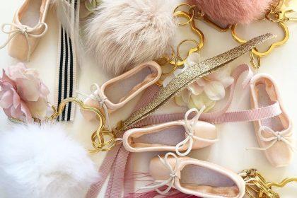 トウシューズ キーチャーム Web shop プチサイズ 上野の森バレエホリディ 大人気商品 gold silver クリスマスギフト ラッピング