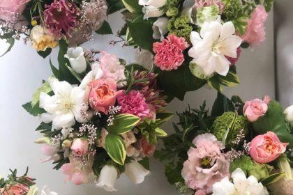 母の日 花屋 フラワーアレンジ 生花 オーダー 事務