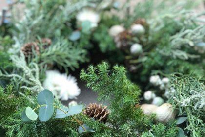 クリスマス スワッグ ワークショップ レッスン リース