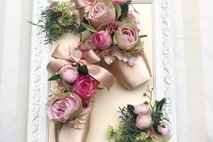 バレエスタジオ 開設 祝い お姫様 飾る フレーム 花 眠れる森の美女 ローズアダージオ